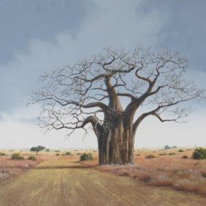 Painting of baobab tree